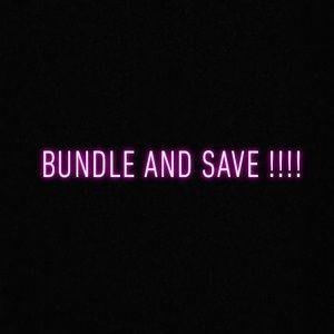 Other - Bundle and saveeeee!!
